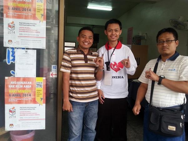 Besama panitia pemungutan suara di Kaohsiung